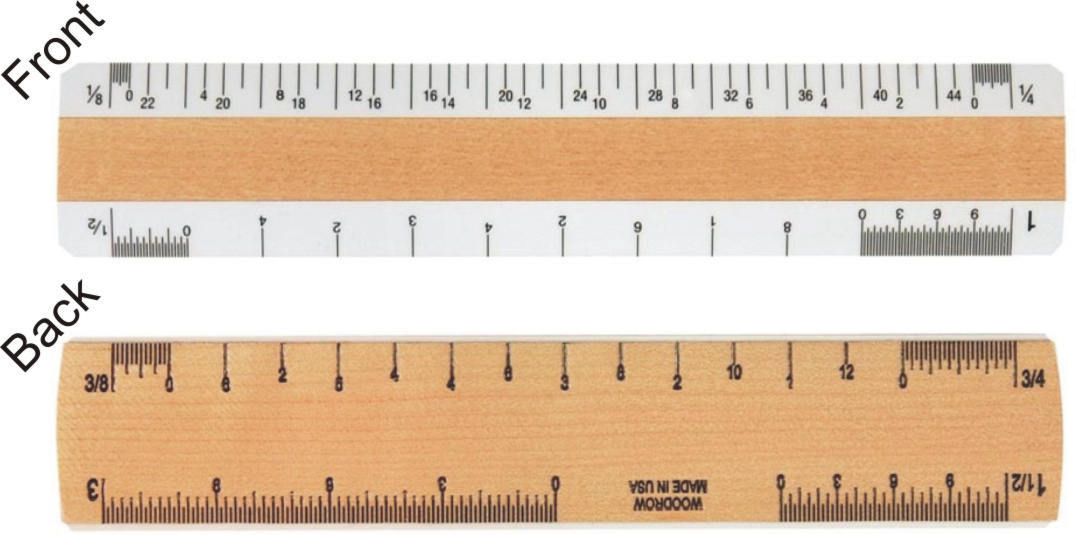 0610a Architectural Ruler