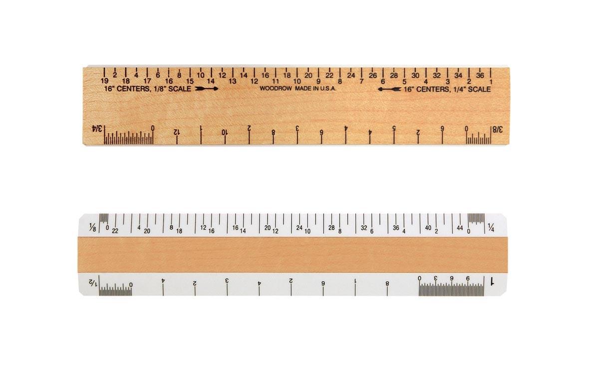 0610aj architectural ruler
