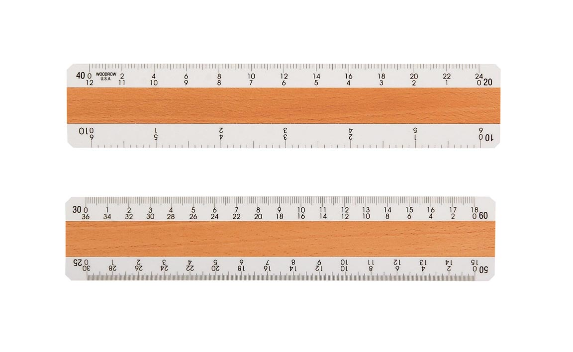 photograph about Printable Architectural Scale titled 400EWD Civil Know-how Ruler