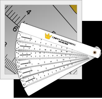 Fan Scale Ruler